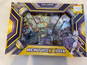 POKEMON TCG MEWTWO EX BOX - NEW & SEALED Ex-Foil Promo Card / Booster Packs etc