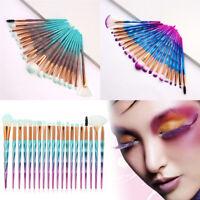 20Pcs/Set Diamond Makeup Brushes Set Eyeshadow Contour Cosmetic Make Up Tool