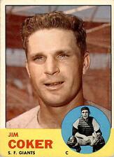 1963 Topps 456 Jim Coker VG #D378518