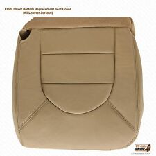 2000 Ford F250 F350 7.3L Lariat Driver Side Bottom Leather Seat Cover Tan