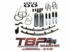 "1966-1977 Early Ford Bronco 3.5"" Suspension Kit Complete - Stage 8"