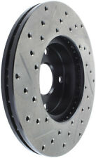 StopTech for 91-03 Ford Escort ZX2 / for 92-95 Mazda MX-3 Slotted & Drilled Left