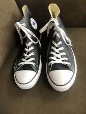 Converse AS BLK/WHT Leather Sneakers #132170C Men's 13