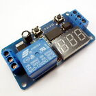 DC 12V LED Display Digital Delay Timer Control Switch Module PLC Automation #E