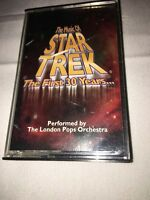 1996 London Pops Orchestra The Music of Star Trek The First 30 Years Cassette