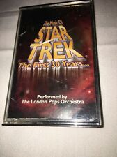 London Pops Orch - The Music Of Star Trek The First 30 Years [CASSETTE] 1996 BCI