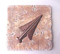 Arrow tip  plastic travertine tile mold plaster cement casting mould
