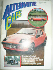 Alternative Cars Summer 1980 Ginetta, Pelland Sports, TVR Tasmin