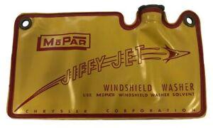 NEW 1957 1958 Mopar Windshield Washer Bag Chrysler Plymouth Dodge Desoto
