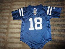 Peyton Manning #18 Indianapolis Colts NFL Reebok Jersey baby toddler 12m