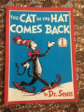 The Cat in the Hat Comes Back Dr Seuss Beginner Books