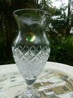 waterford footed vase signed jorge perez