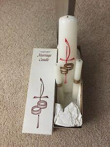 wedding unity candle set