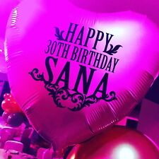 Helium-Filled Personalised/Custom Foil Balloon In A Box
