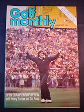 Vintage Golf Monthly - August 1979 - Birthday gift for the Golfer