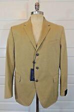 $695 Men Polo Ralph Lauren 3 Button Custom Fit USA Blazer Jacket Sport Coat 46R