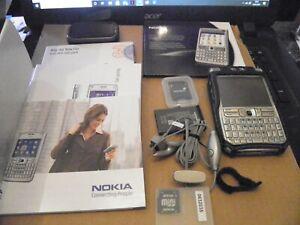 Nokia E-61 E61 QWERTY Keyboard Mobile Phone Fully Working original box Bundle
