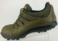 Tsubo Sneakers Fashion Lace Up Brown Comfort Casual Leather Shoes Mens US 12