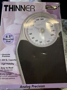 Conair Thinner TH100S 330lbs Extra-Large Dial Analog Precision Scale -...