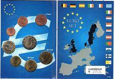 EURO LUXEMBOURG  2002  SERIE COMPLETE   1C A 2 E NEUVE