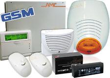 AMC Kit Centrale allarme antifurto NUOVA SERIE C24 GSM PLUS 8/24 Zone+LCD VOICE