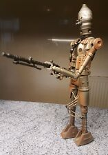 "12 "" 1/6 scale Star Wars IG-88 Droid 13 inch figure  Power of the Jedi Hasbro"