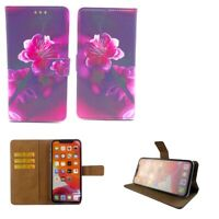 Premium Leather Mobile Phone Wallet Book Case For BLU Tank Xtreme Pro -L