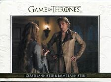 Game Of Thrones Season 3 Relationships Gold Parallel DL02 Cersei Lannister and