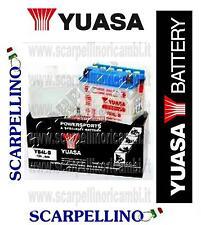 BATTERIA YUASA YB4L-B CON ACIDO PER PUCH COBRA GTL 50 cc - BATTERY