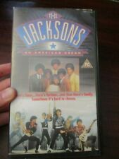 The Jacksons An American Dream   VHS Video Tape  (NEW)