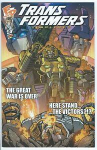 Transformers Timelines #9 A Common Foe BotCon 2016 Exclusive Fun Publications x