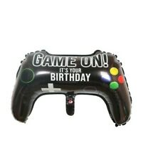 2pcs Balloons video game controllers, play station birthday party decoration