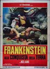 FRANKENSTEIN CONQUERS THE WORLD Italian 2F movie poster 39x55 ISHIRO HONDA 1965
