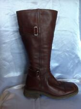 Chelsea Cobbler Brown Knee High Leather Boots Size 38