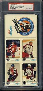 1992 Kraft Wayne Gretzky, Bourque, Coffey, Chelios PSA 3 Approx 10'x4.5'
