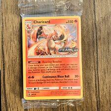 New listing Sealed Prerelease Pokemon Charizard Card Black Star Promo Set Sm158 Holo Team Up