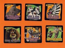 12 Madagascar Halloween - Large Stickers - Party Favors
