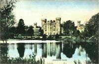 Johnstown Castle postcard antique vintage colour printed Ireland