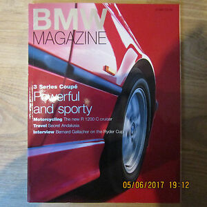 BMW Great Britain GB Official Magazine MARCH 1997 E36 3 Series Coupe