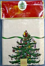 Spode Christmas Tree 60 X 144 Tablecloth NEW in Package
