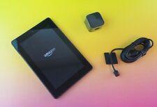 Amazon Fire HD 7 4th Gen Wi-Fi 16GB 7in - Black Used Tablet #sa0n