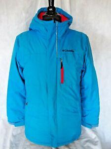 Columbia Boys Alpine Free Fall Ex-Hire Ski Jacket - Blue
