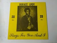 Horace Andy-Sings For You And I Vinyl LP ROOTS REGGAE