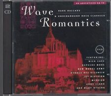 WAVE ROMANTICS DARK BALLADS 2CD NICK CAVE DEPECHE MODE THE CULT KILLING JOKE