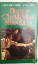 Happy Christmas,Miss King(Vhs]Tested-Rare Vintage Collectible-Ships N 24 Hours
