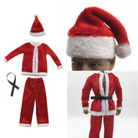 """1/6 Scale Christmas Costume Set for 12"""" Male Sideshow DID Action Figure Body"""
