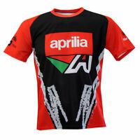 Aprilia T-shirt Maglietta Camiseta / Gift Biker Bike Motocycle MotoGP 2