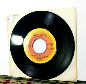 """Roy Head: The Door I Used To Close - 1976 7"""" Single, Country - Rare"""