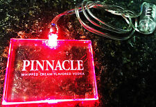 PINNACLE WHIPPED CREAM FLAVORED VODKA LIGHT-UP PENDANT - PROMOTIONAL NECKLACE