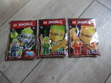 Lego 3x Ninjago Lloyd Jay & Kai neu im Polybag
